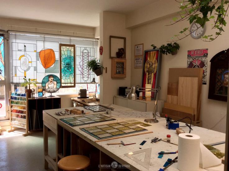 L\'Artisan du Vitrail - Ateliers d\'Art de France