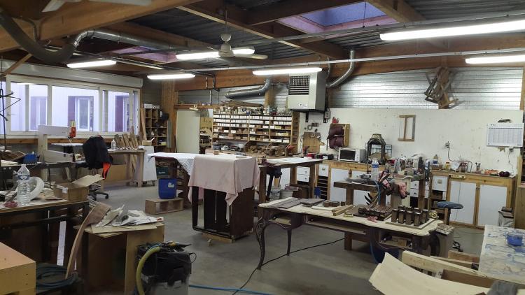 Sylvain bulot marqueterie d 39 art ateliers d 39 art de france - Atelier d art de france ...
